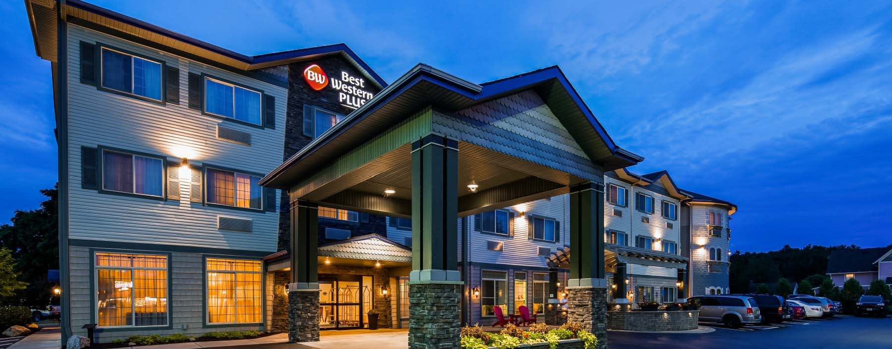 The Award-winning best western plus vineyard inn and suites situated a 1.2 mile from Keuka Lake